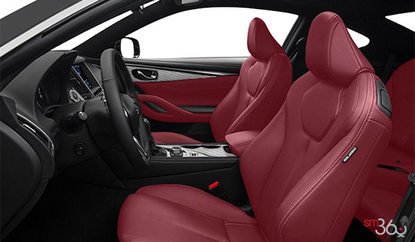infiniti q60 coup red sport 2017 la conduite dict e par les sensations et non la destination. Black Bedroom Furniture Sets. Home Design Ideas