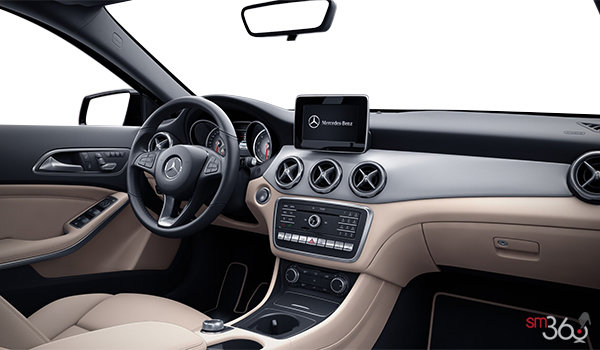 mercedes benz gla 250 4matic 2018 la fois l gant et. Black Bedroom Furniture Sets. Home Design Ideas
