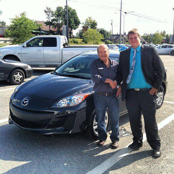Merci Mazda de Sherbrooke pour le bon service!