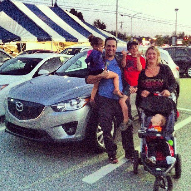 J'ai été très bien servie chez Mazda de Sherbrooke!