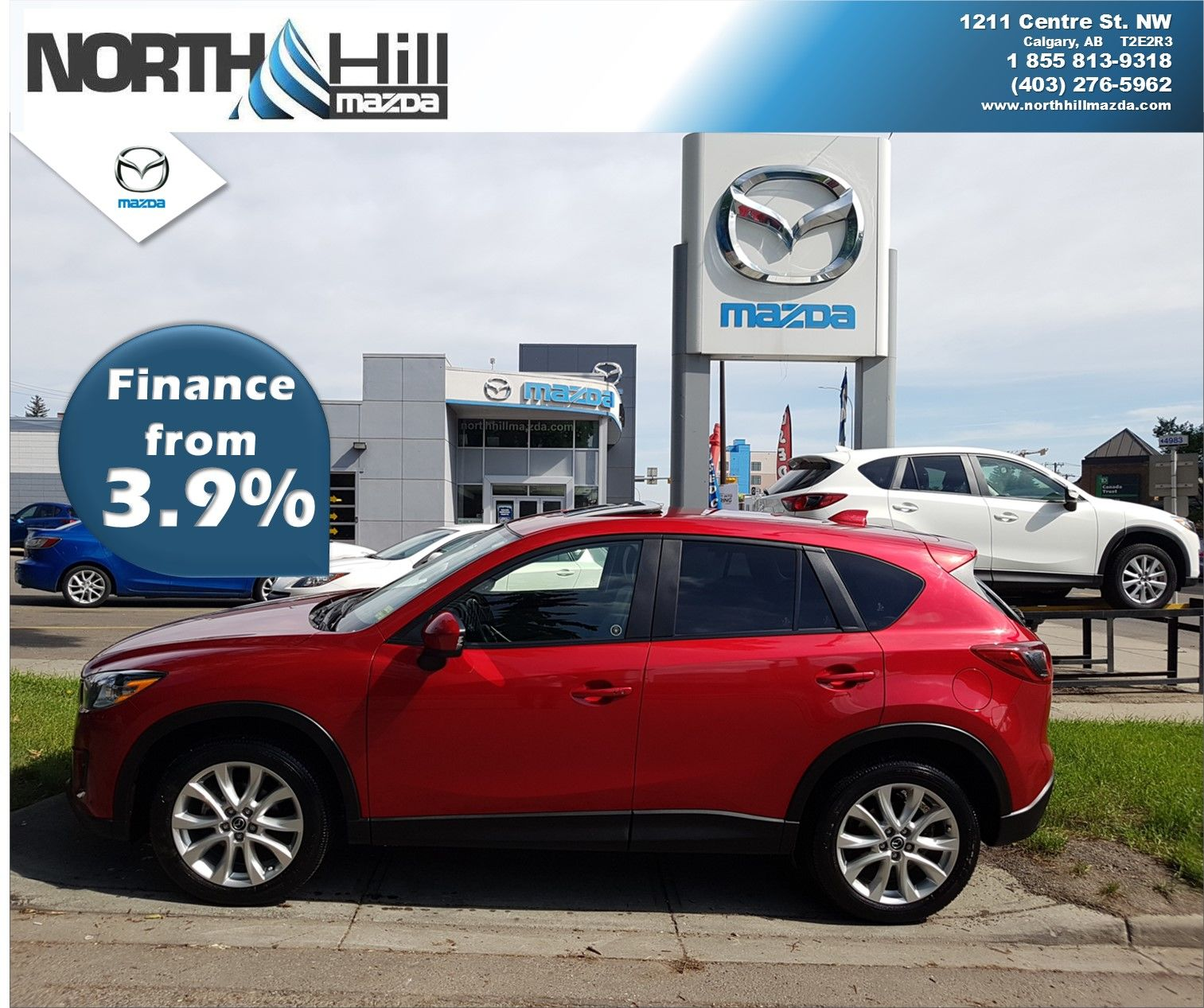 2014 Mazda Cx 5 Gt Awd At For Sale In Calgary North Hill Mazda