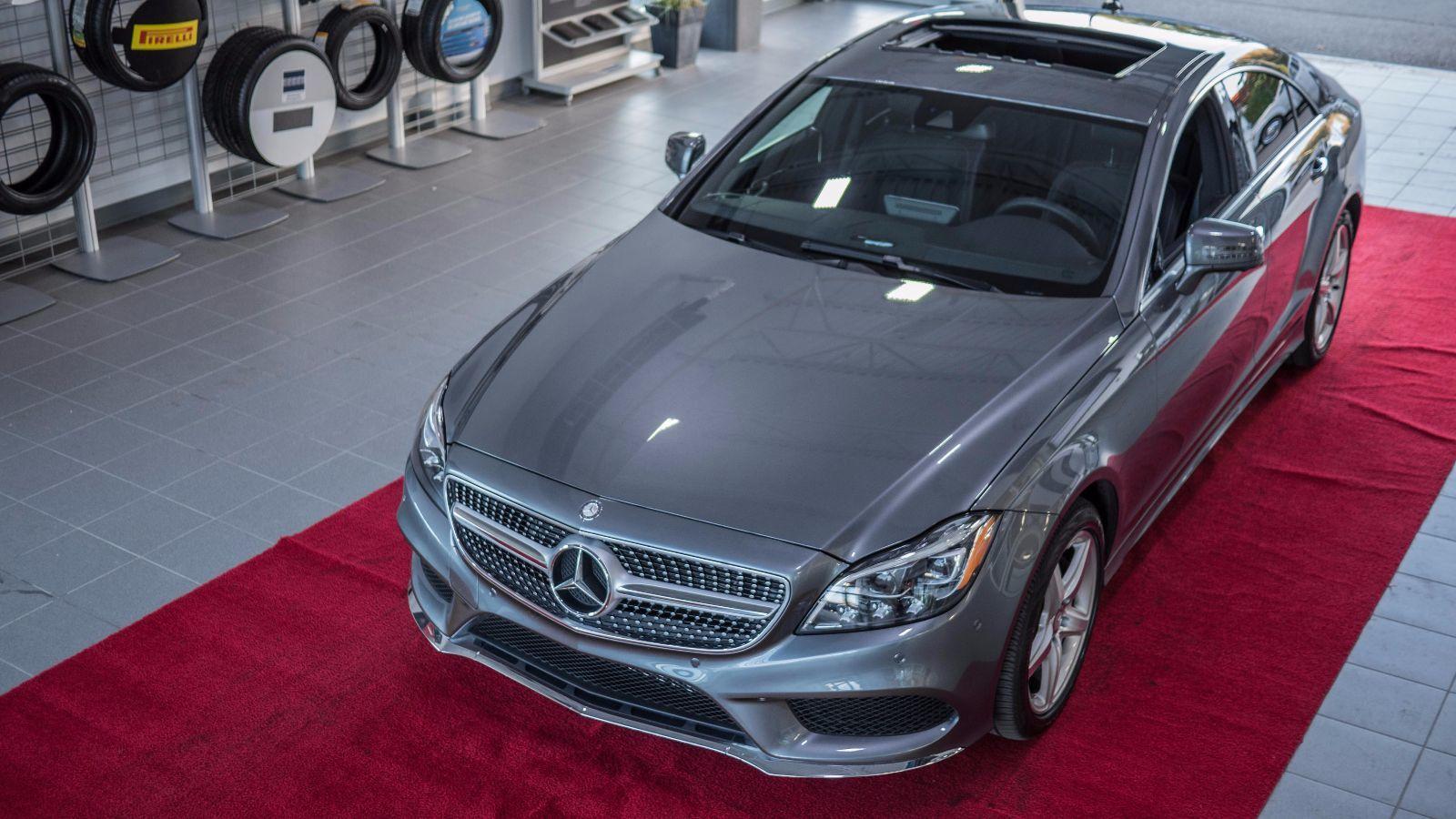 Mercedes benz de sherbrooke mercedes benz cls 2016 usag for 2016 mercedes benz cls550 4matic