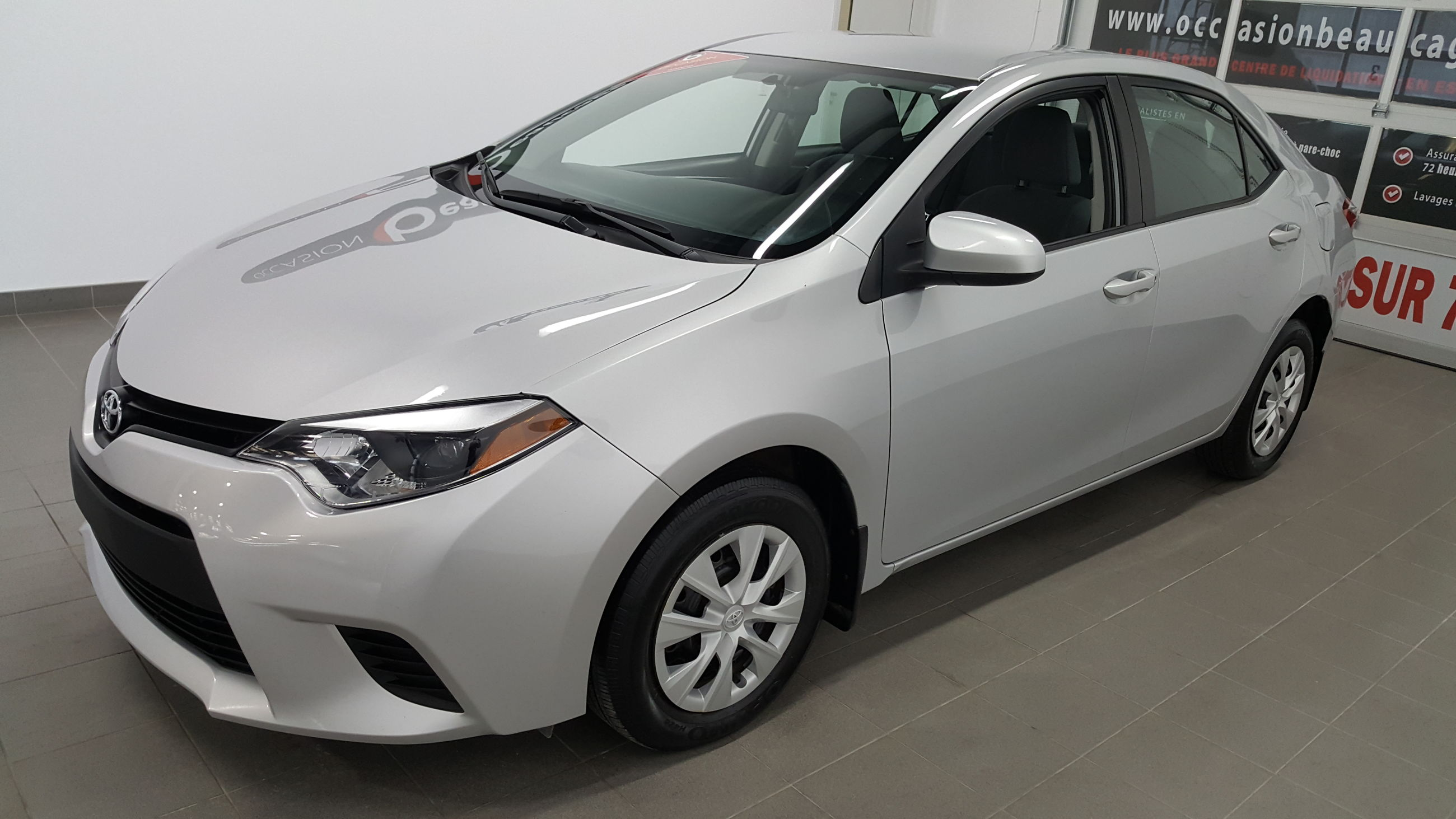 Groupe Beaucage Toyota Corolla 2014 Usag 233 224 Vendre En