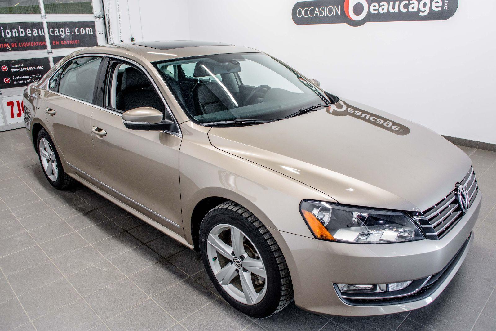 Groupe Beaucage Volkswagen Passat 2015 Usag 233 224 Vendre En