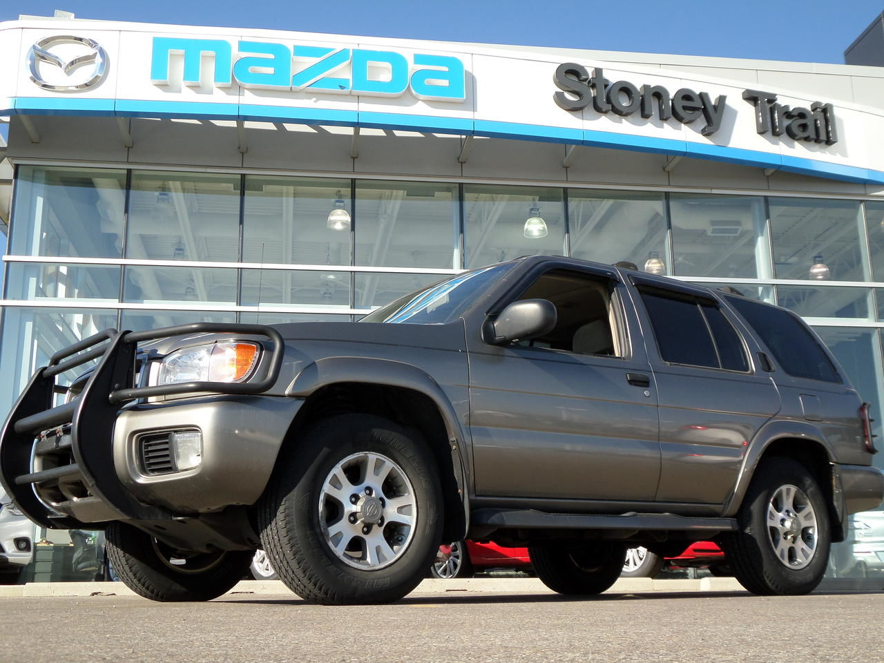 Mazda Certified Pre Owned >> 2004 Nissan Pathfinder Chinook for sale in Calgary | Stoney Trail Mazda