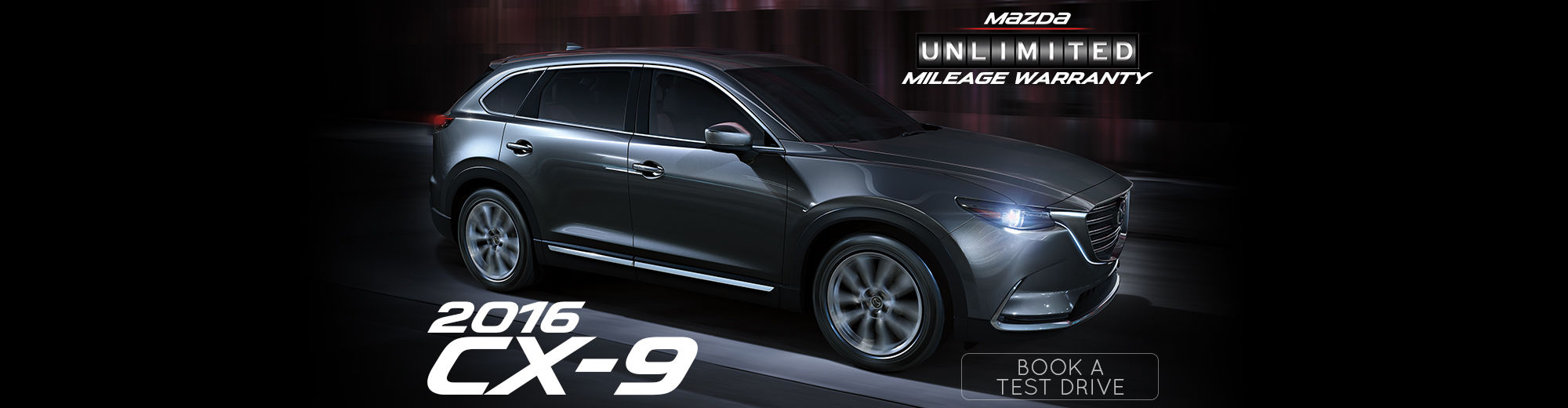 The New 2016 CX-9 is Now Available at Kramer Mazda!
