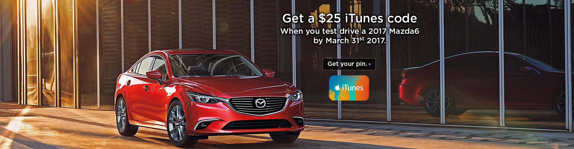 2017 - Mazda6 iTunes Promo