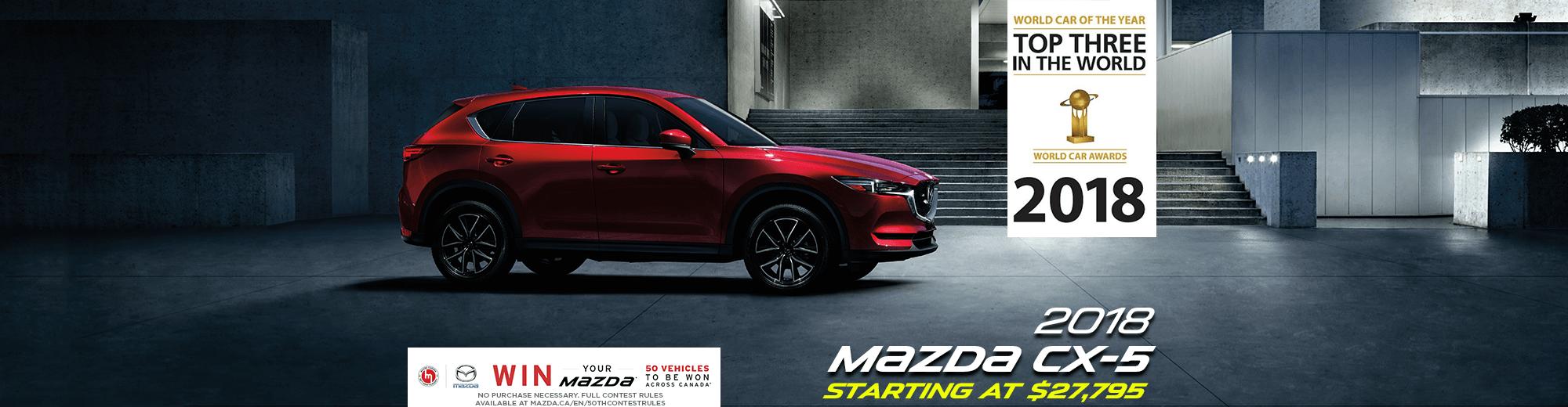 2018 Mazda CX-5: World Car of the Year