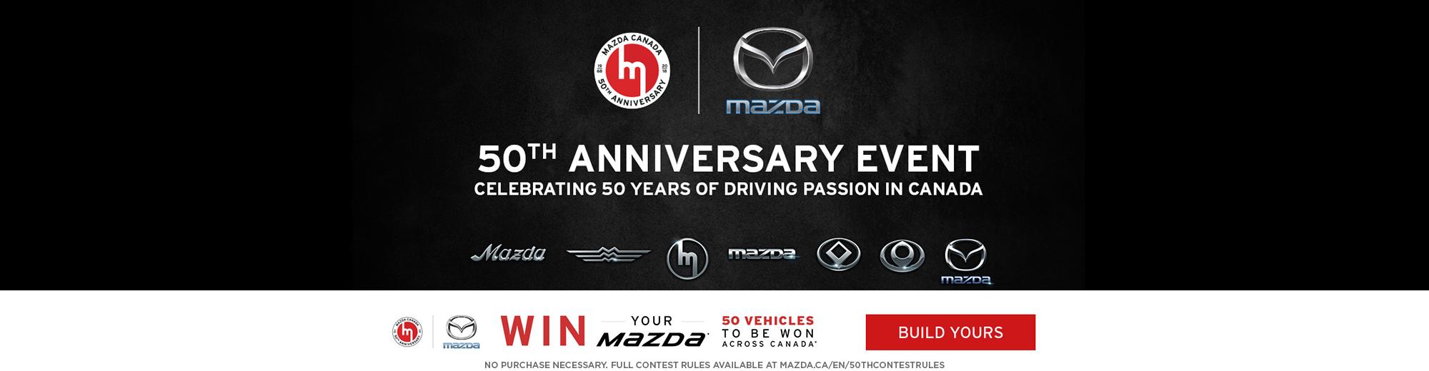 Win Your Mazda!
