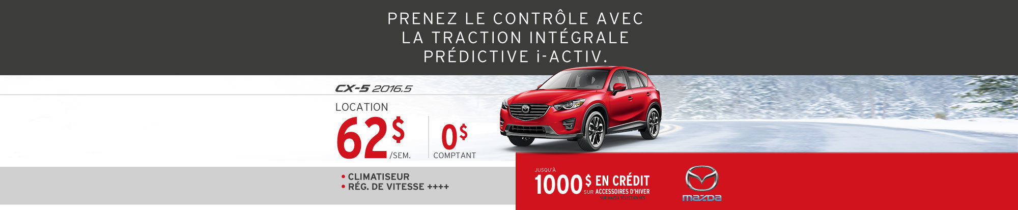 Louez le Mazda CX-5 2016.5