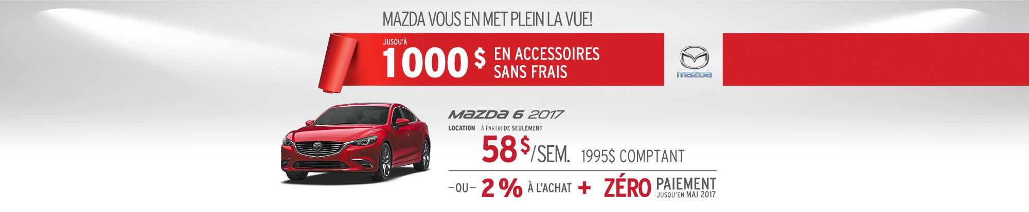 Location Mazda 6 2017