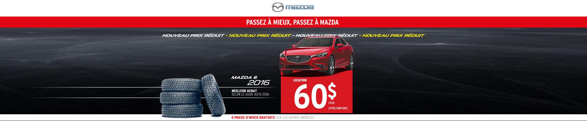 Location Mazda6 2016