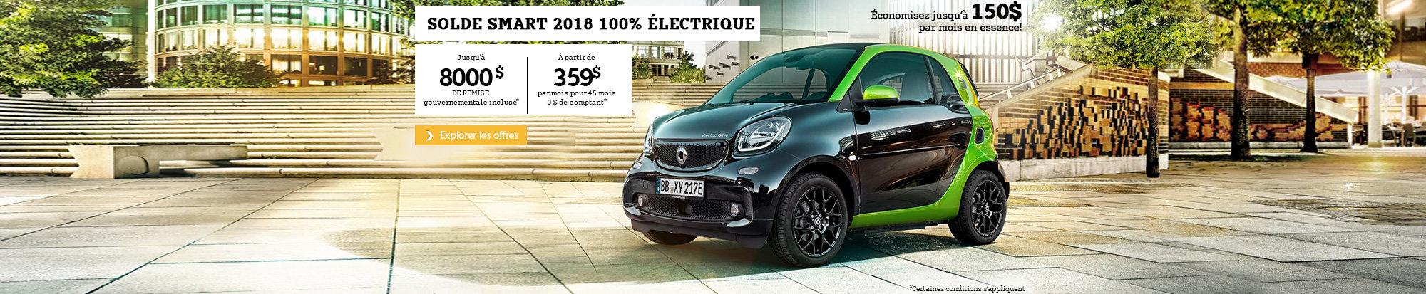Smart 2018 100% Électrique - web