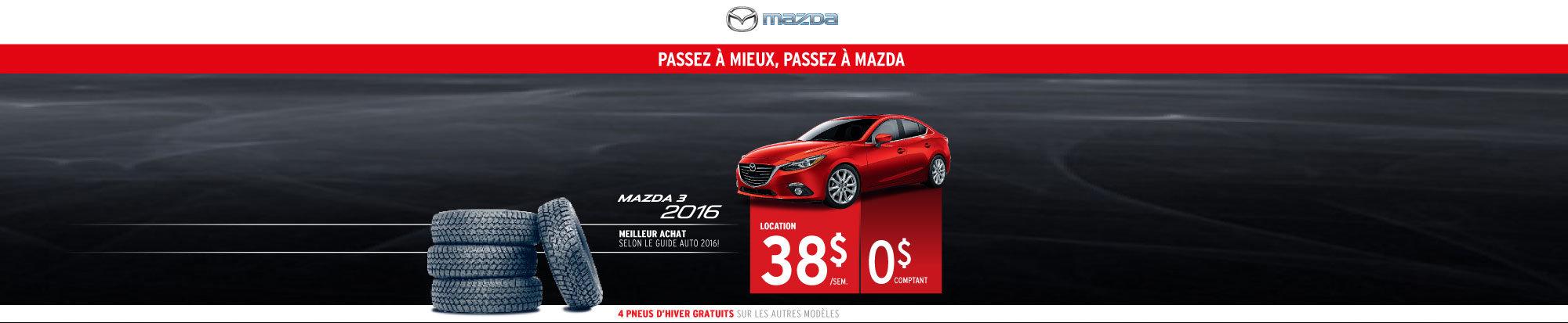 Louez le Mazda 3 2016