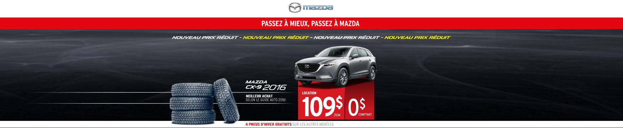 Louez le Mazda CX-9 2016