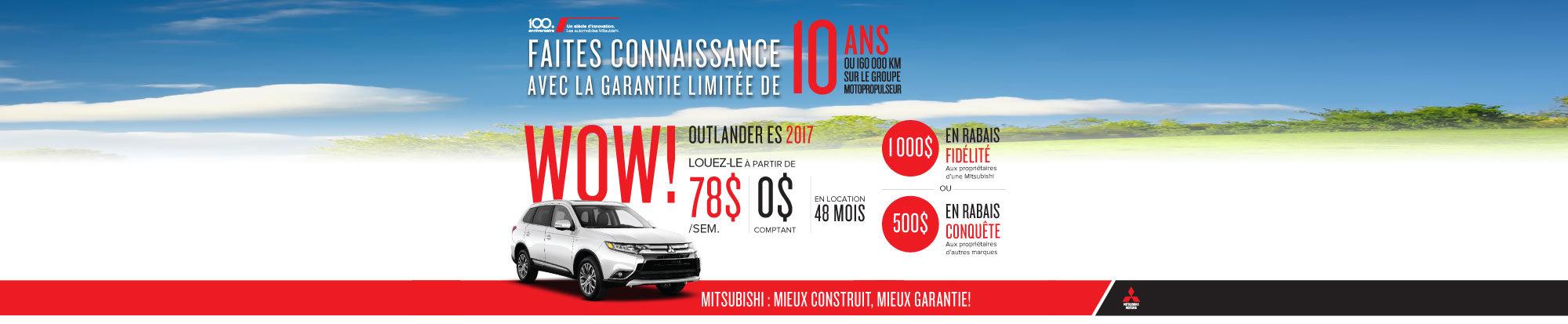 Mitsubishi Outlander ES 2017