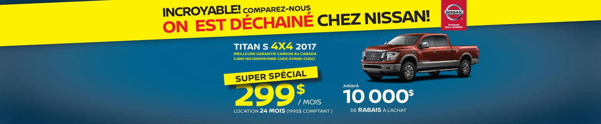 Nissan Titan S 4X4 2017