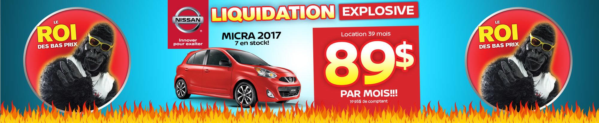 Méga liquidation Micra 2017 (web)