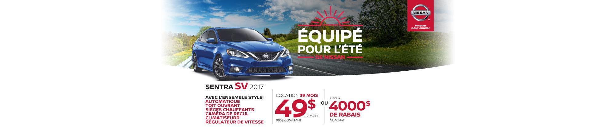 Nissan Sentra header web