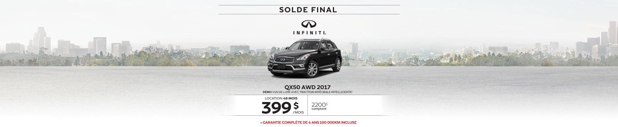 QX50 web