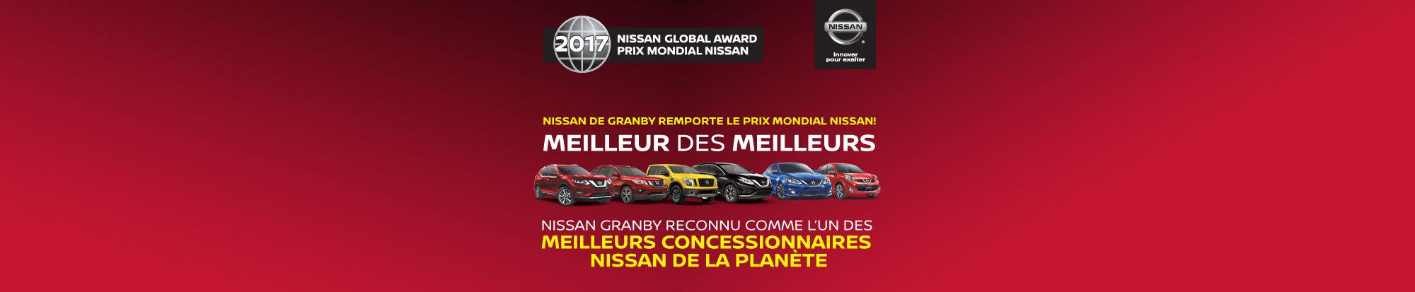 Nissan Granby prix mondial web