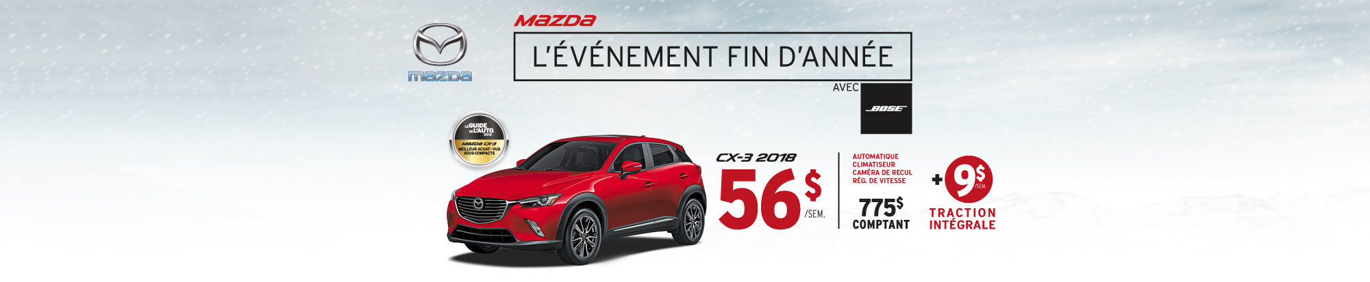 Mazda CX-3 web