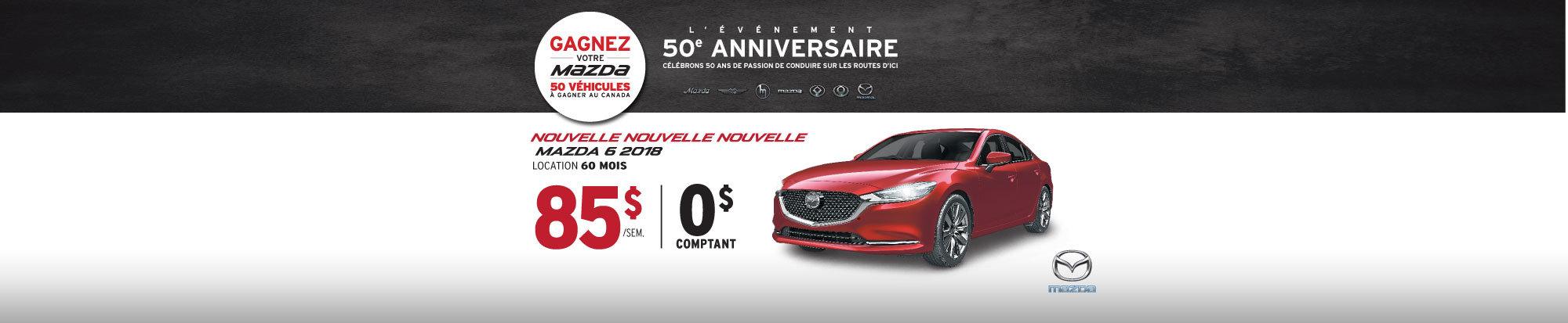 La toute nouvelle Mazda6 2018 vient d'arriver! web