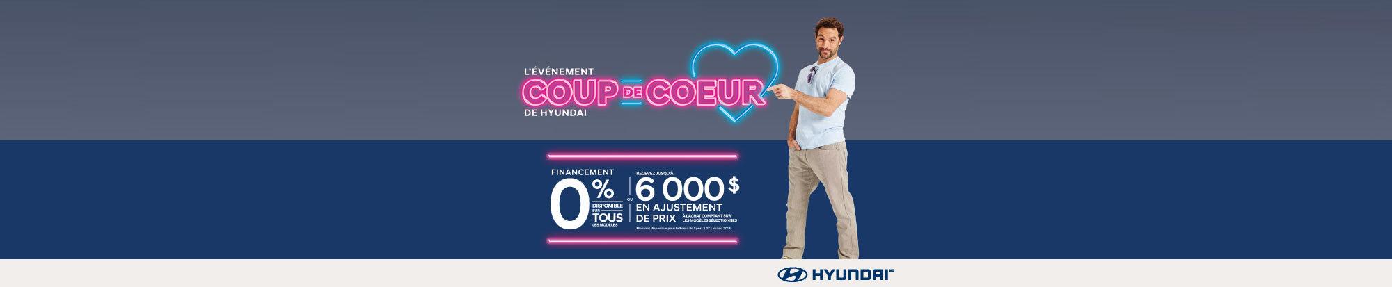 L'événement COUP DE CŒUR chez Hyundai Magog! web