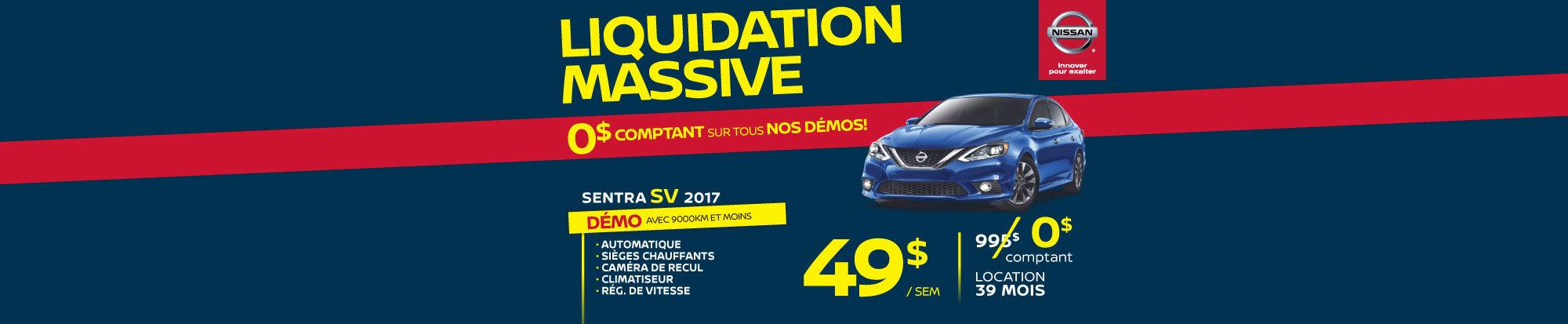 Liquidation massive Sentra SV 2017 web