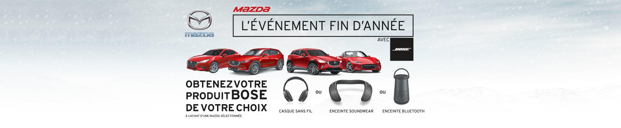 La vente mensuelle chez Mazda web