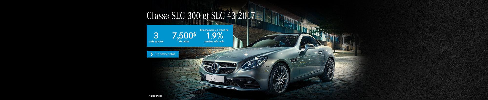 Classe SLC - Promo Septembre
