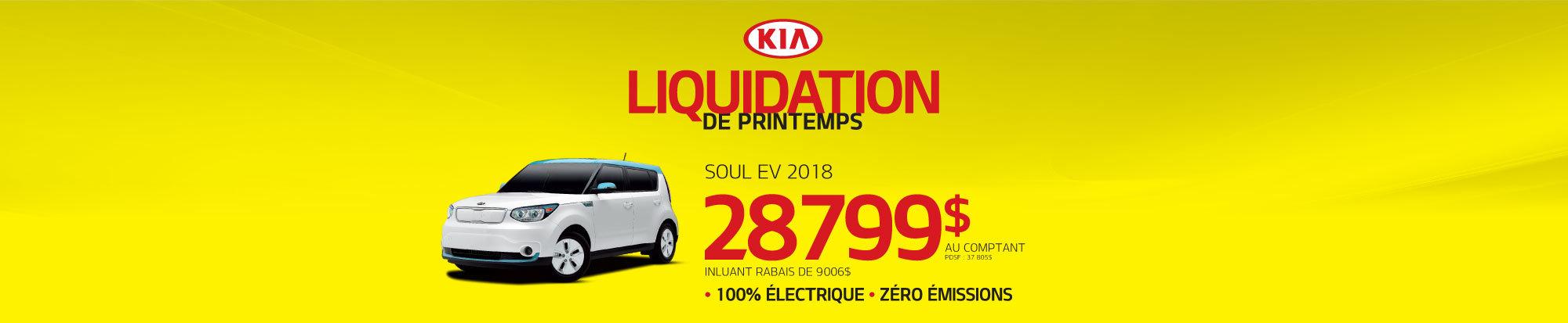 Liquidation de printemps Soul EV 2018 web