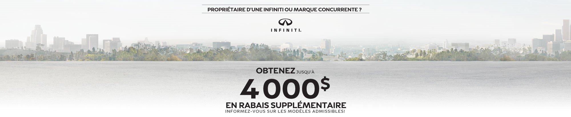 Solde final Infiniti