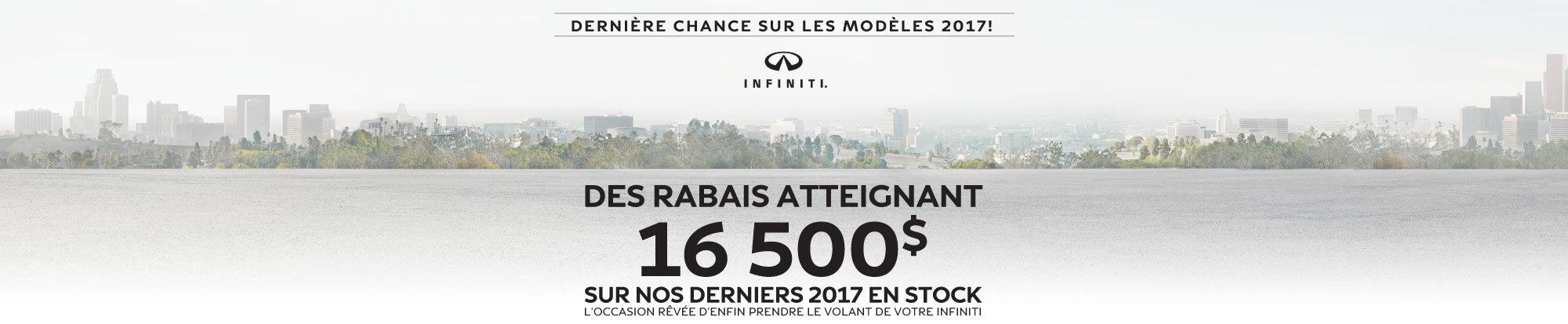 Dernière chance sur les modèles 2017 web