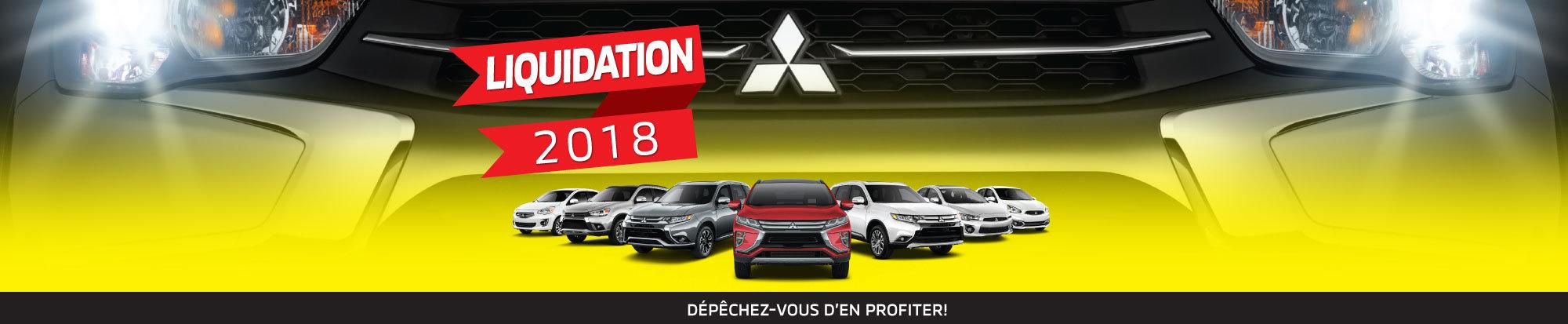 Modèles 2018 au plus bas prix de l'année chez Mitsubishi web