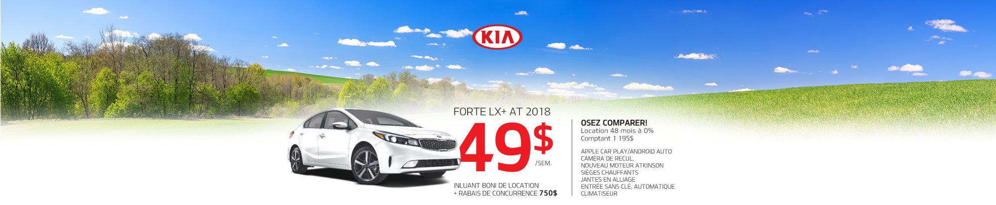 Forte LX+ Automatique 2018 à prix incroyable! web