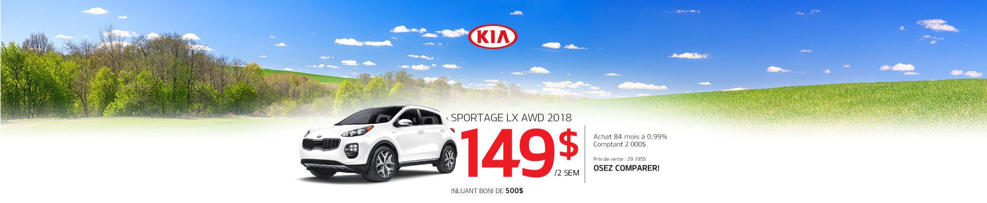 Sportage LX AWD 2018 web