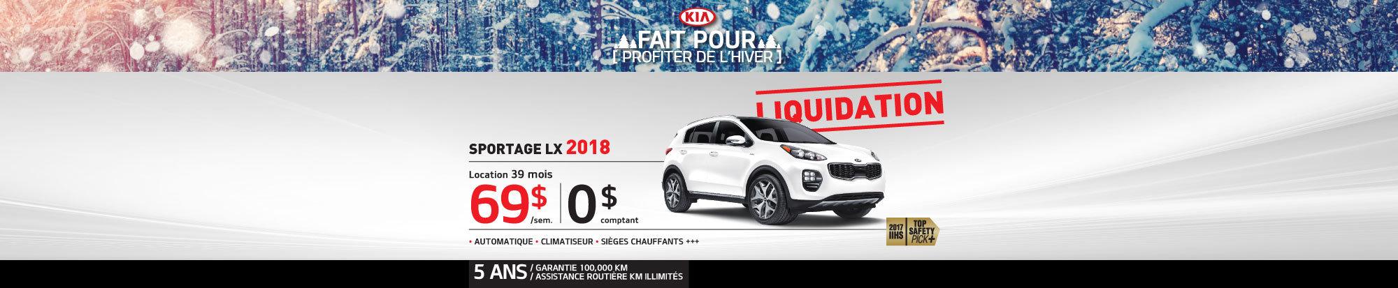 Liquidation Sportage 2018 web