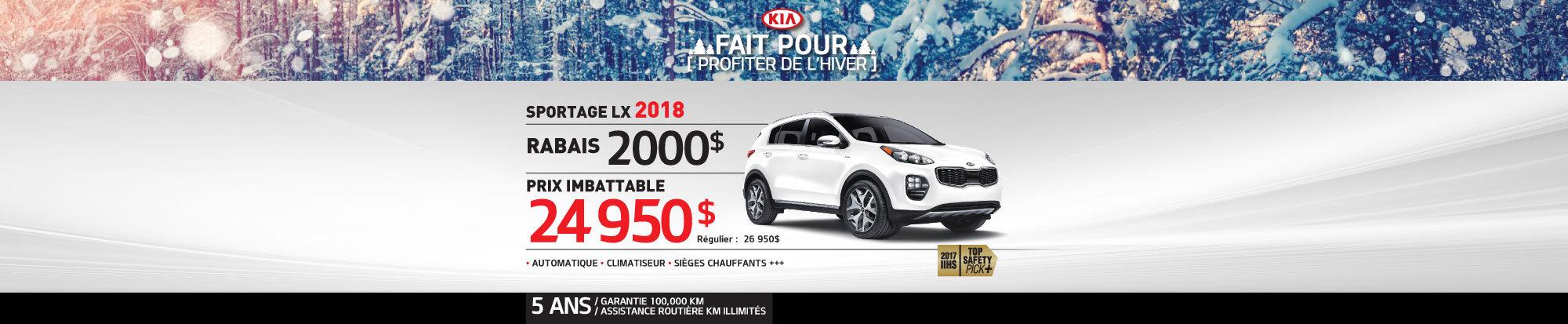 Sportage LX 2018 web