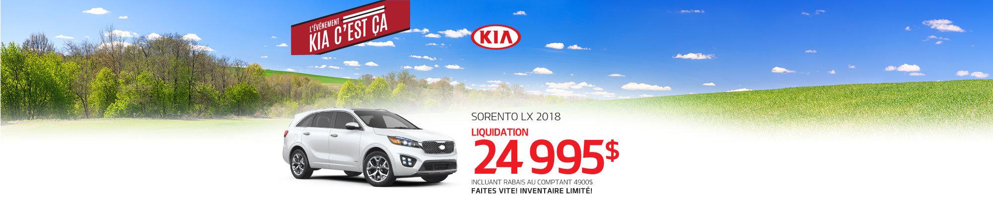 Sorento LX 2018 web
