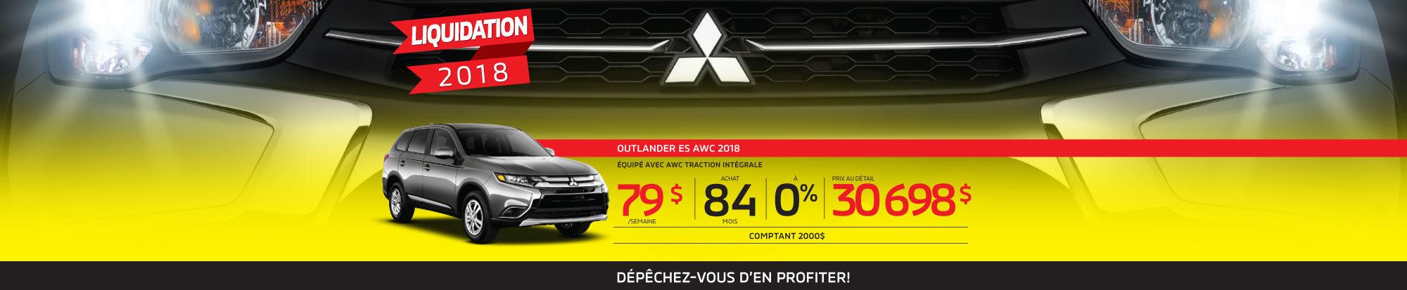 Le plus bas prix de l'année sur le Outlander 2018 web