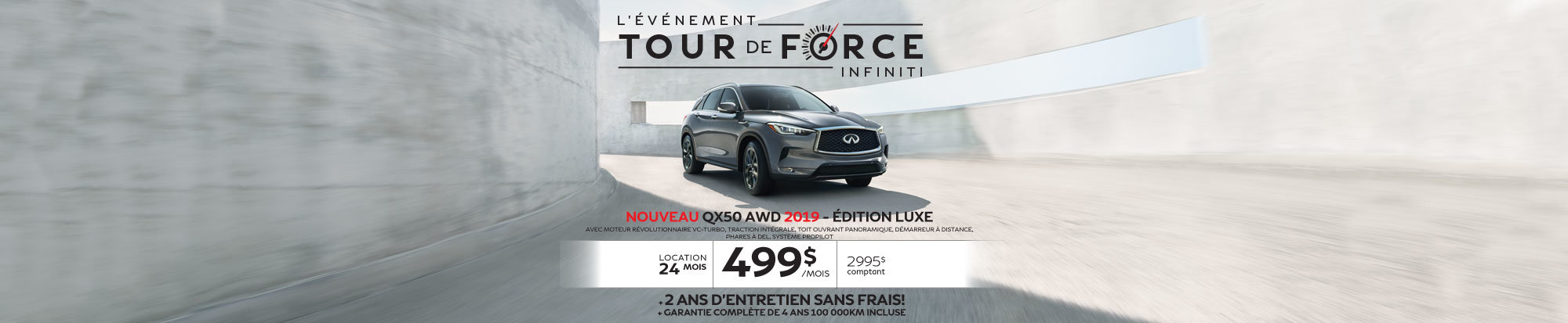 QX50 AWD 2019 édition LUXE web