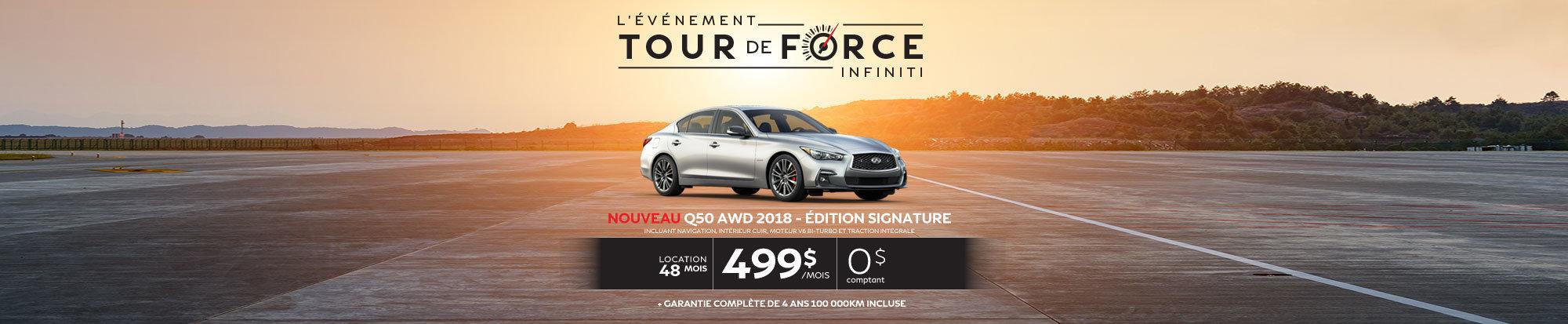 Q50 AWD 2018 – Édition SIGNATURE web