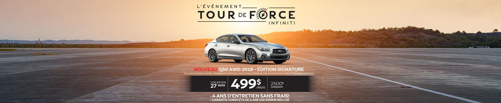 Q50 AWD 2017 – Édition SIGNATURE web