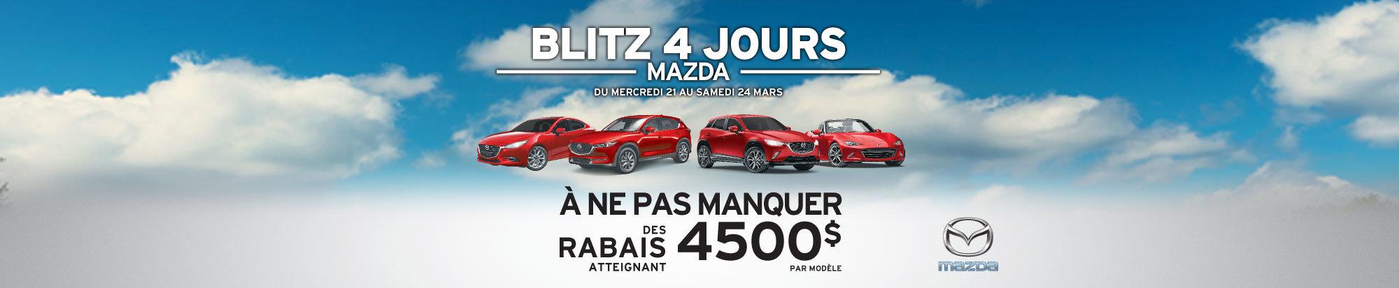 Blitz 4 jours Mazda - web