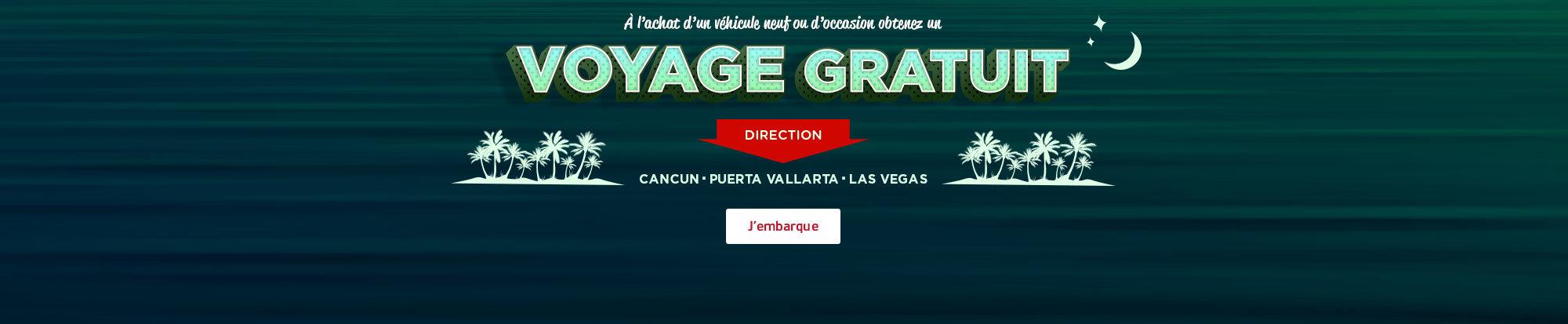 Voyage gratuit! web