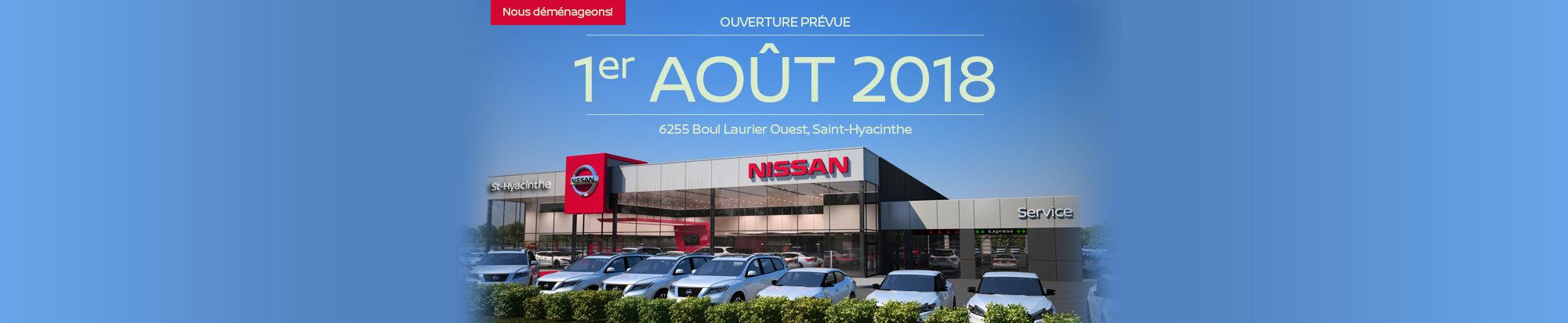 Nissan St-Hyacinthe déménage! - web