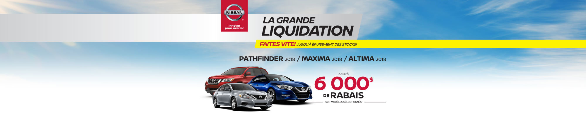 Pathfinder 2018 / Maxima 2018 / Altima 2018