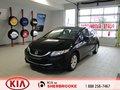 Honda Civic Sedan 2014 DX *AUX *LECTEUR MP3*VITRES ET MIROIRS ÉLECTRIQUES
