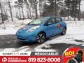 Nissan Leaf 2014 SL, GPS, CUIR , CAMERA DE RECUL, THERMOPOMPE